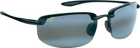 Maui Jim Ho'okipa 407, 407-02 Gloss Black / Neutral Grey Maui Jim. $152.00