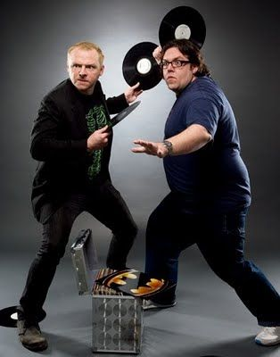 Best duo: Simon Pegg y Nick Frost.