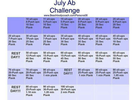 I know it's already July 6, but better late then never. who is with me? Who is going to do this challenge with me?