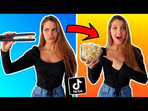 Testing Viral Tik Tok Life Hacks Can T Believe This Worked Youtube Overnight Beauty Hacks Life Hacks Youtube Life Hacks Food