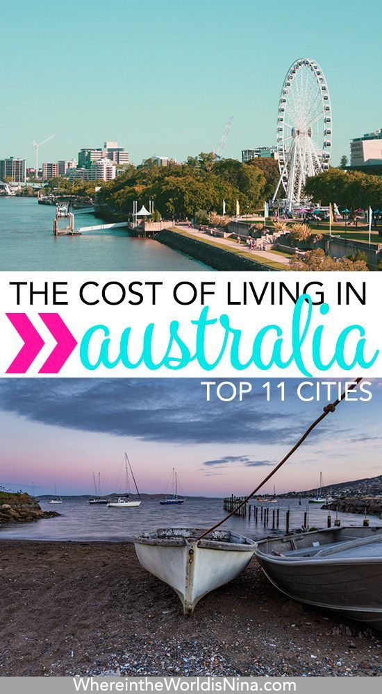 What Are The Living Expenses In Australia S Top 11 Cities Australia Living Australia Travel Moving To Australia