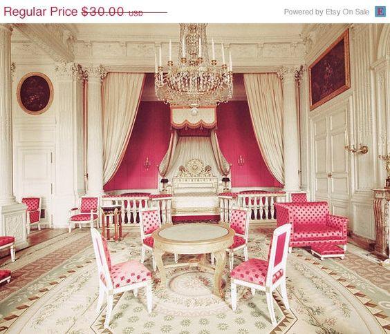 I could sleep here (Princess room at Versailles)