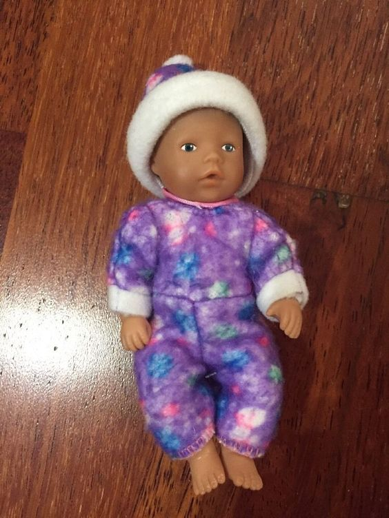 ** mini Baby Born (miniworld) Set Weihnachten Kleidung Schneeanzug Mütze **