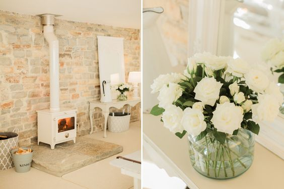 Chic and feminine studio in converted Victorian open barn | Image by Naomi Kenton
