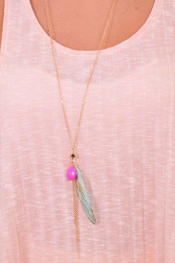If Looks could Thrill Necklace #xoxoBelle ShopBelleBoutique.com