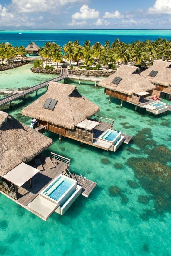 20 Most Beautiful Islands In The World Honeymoon Bora Bora Resorts Places To Travel Dream Vacations
