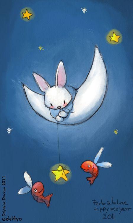 I love bunny rabbit and bunnies on pinterest for Goodnight moon tattoos