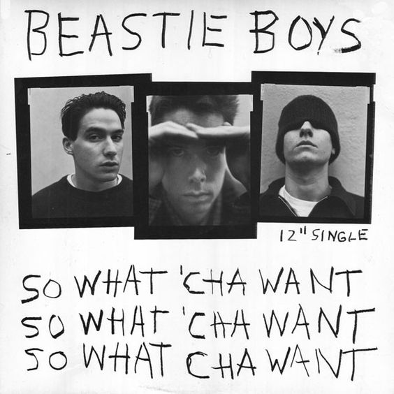 Beastie Boys – So What'cha Want (single cover art)