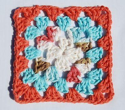 How to make a granny square.