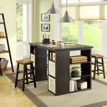 Bayside furnishings project table at costco craft room desk office pinterest crafts - Costco office desk ...