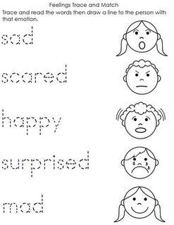 584 FREE ESL Feelings, emotions worksheets
