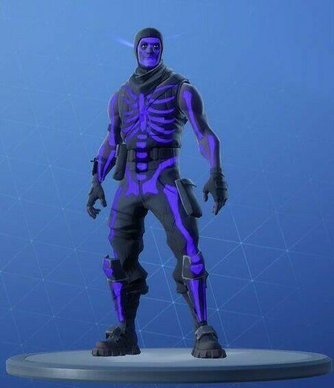 Skull Trooper Purple Fortnite Skin Fortnite Fortnitebattleroyale Live Fortnite Gamer Pics Trooper