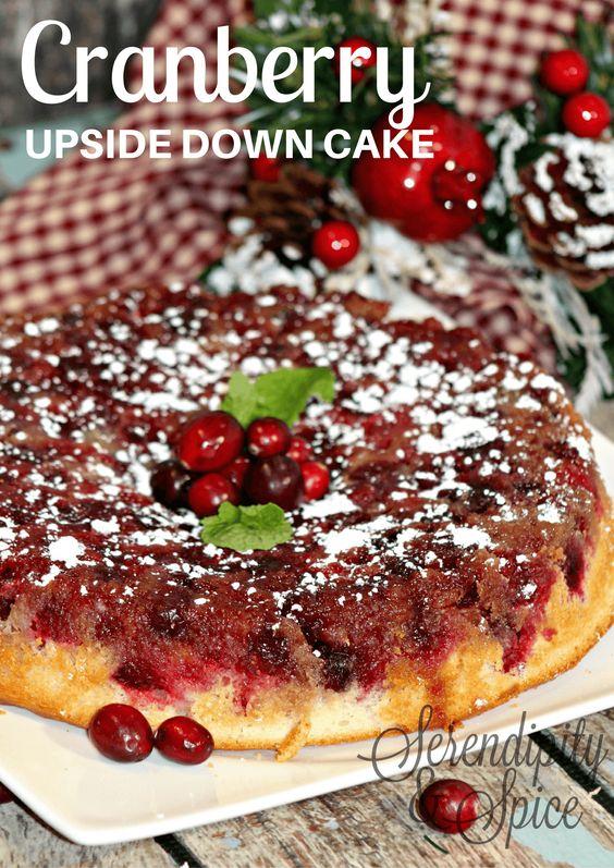 Cranberry+Upside+Down+Cake+Recipe+via+@MelissaLlado1