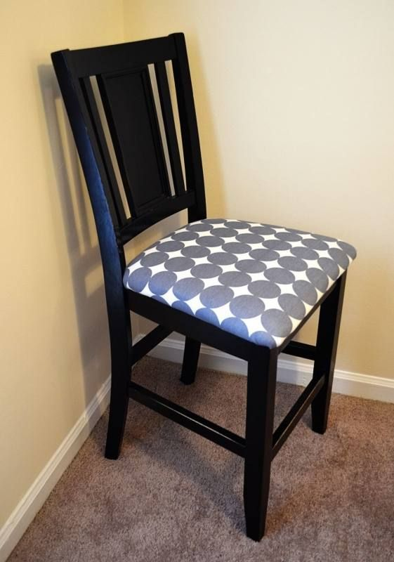 Reupholster Kitchen Chair Ideas Fabric Dining Room Chairs