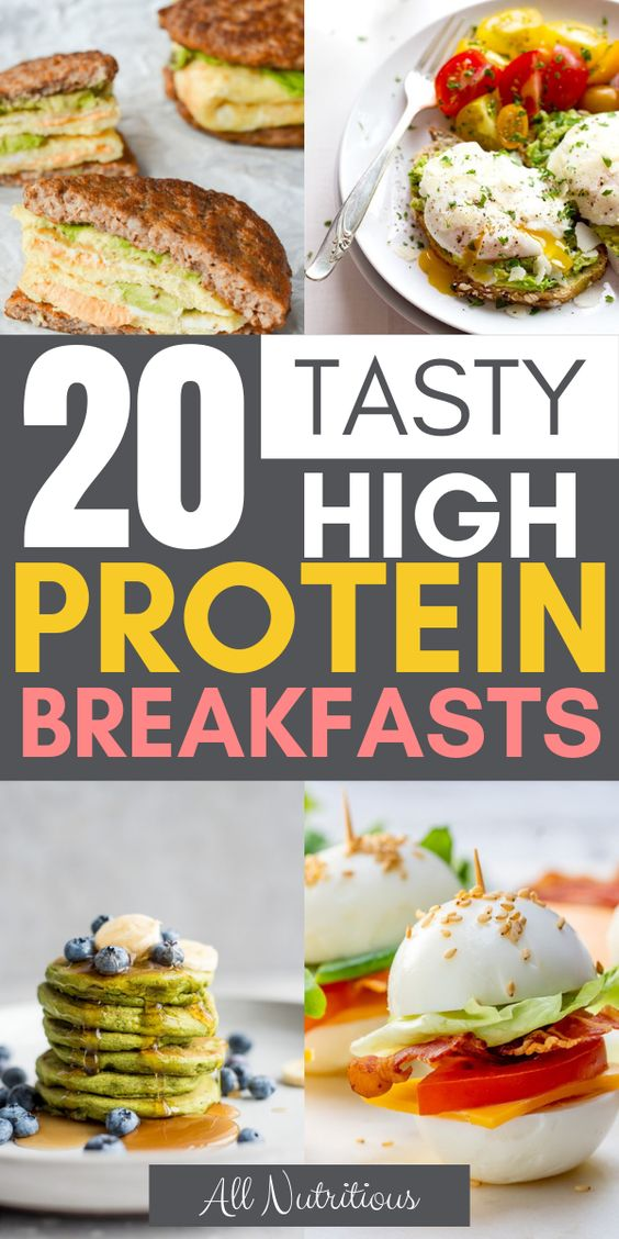 20 Tasty High Protein Breakfasts