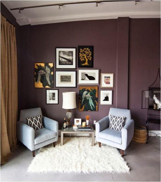Mauve Wall Color Pictures Pinterest Living Room Color Pinterest Colors Wall Colors