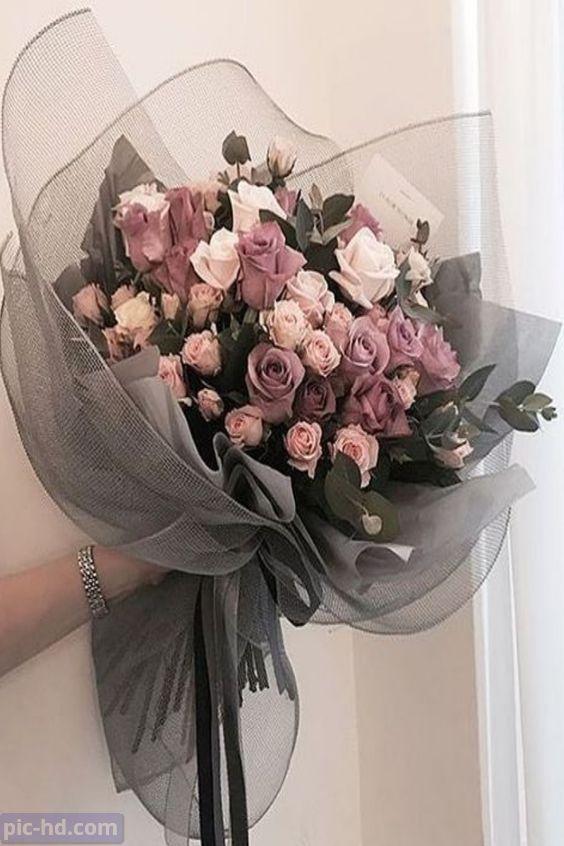 صور ورود أجمل صور خلفيات ورد للهاتف أجمل الورود الطبيعية Boquette Flowers Flower Arrangements Flowers Bouquet Gift