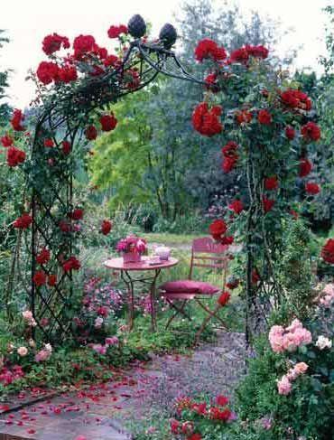 Garden Arches & Rose Arches - Victorian Arch Kiftsgate ...