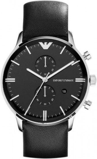 Emporio Armani Herren Chronograph Armband Uhr AR0397 – Bild $_i
