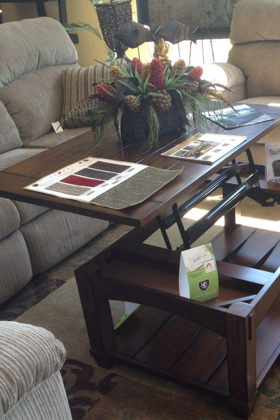 Lift Top Coffee Table Pull Out Coffee Table Lazy Boy Furniture