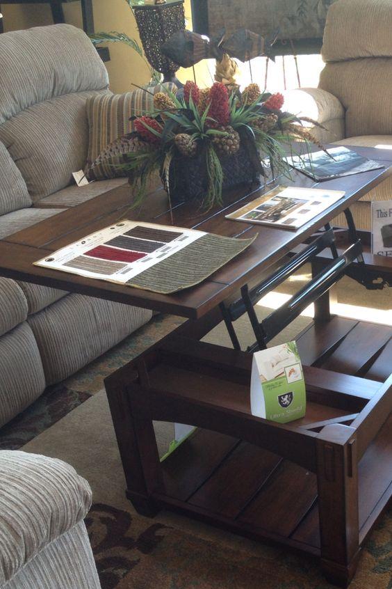 Lazy Boy Design A Room: Pull Out Coffee Table. Lazy Boy