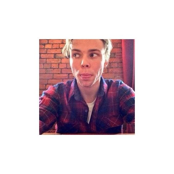 flannel calum hood ❤ liked on Polyvore featuring tops and hoodies