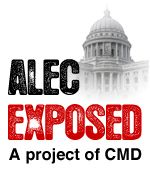 "This CMD Special Report cuts through the PR spin and exposes the funding and spending of the American Legislative Exchange Council (ALEC). Almost 98% of ALEC's funding comes from corporations like Exxon Mobil, corporate ""foundations"" like the Charles G. Koch Charitable Foundation, or trade associations like the pharmaceutical industry's PhRMA and sources other than ""legislative dues."" Those funds help subsidize legislators' trips to ALEC meetings..."