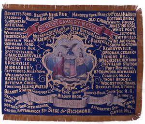6th Cavalry Regimental Flag | Civil war flags, Battle flag, Civil ...