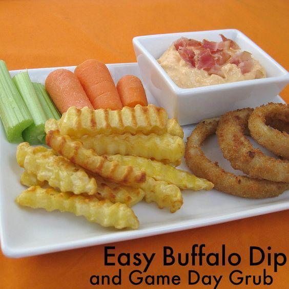 Creamy Easy Buffalo Dip