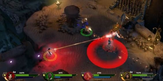 Lara Croft and the Temple of Osiris features four playercoop arcadestyle gameplay -