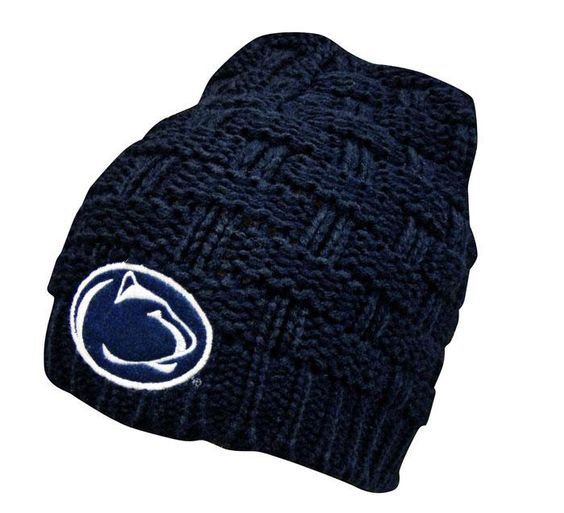 Penn State Women's Quad Cable Knit Beanie