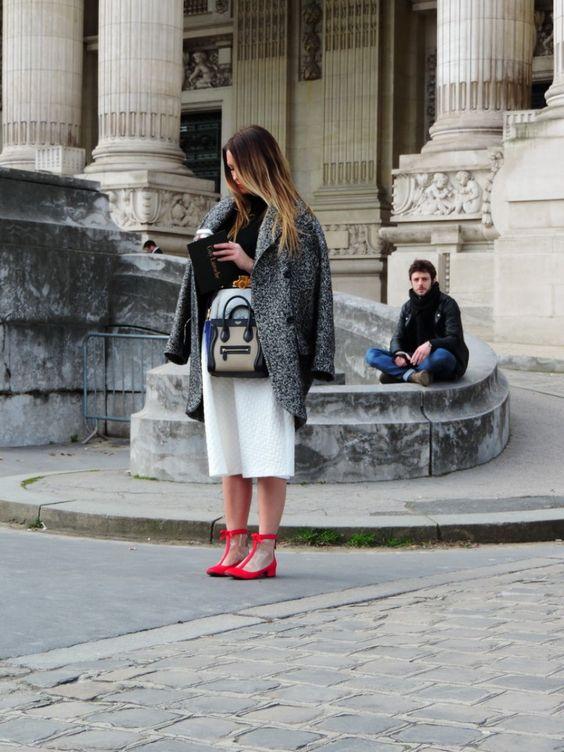 Paris Fashion Week Day 2 - Street Style