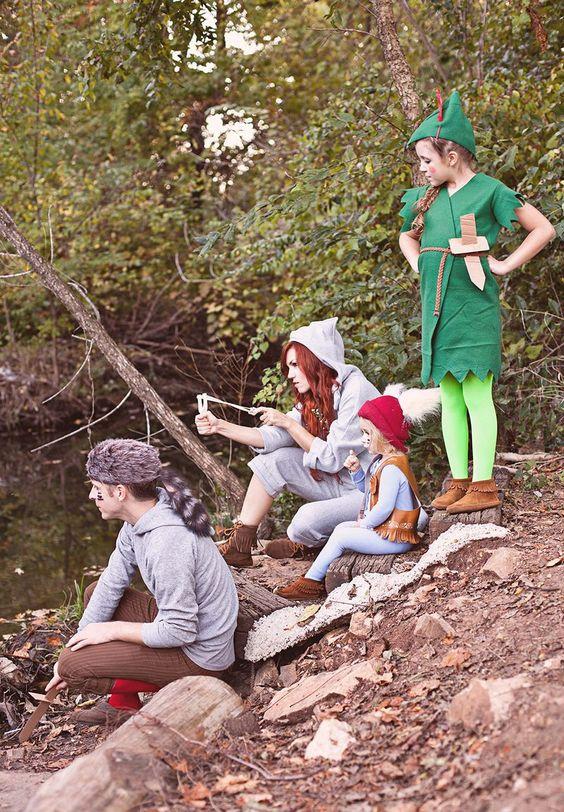 Perfect Peter Pan y los Niños Perdidos traje DIY