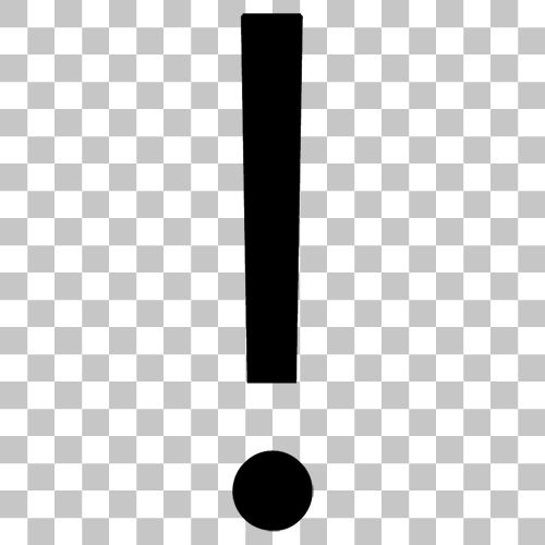Exclamation Mark Png Image With Transparent Background Png Images Transparent Background Png