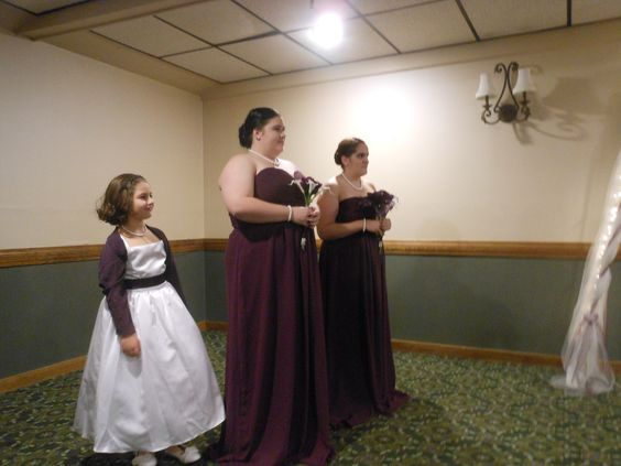 Flower Bridesmaid Maid Of Honor At My Son His Bride S