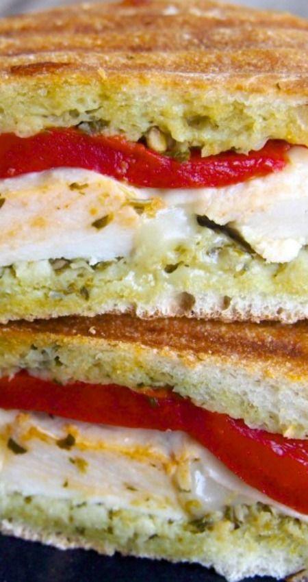Pesto Chicken Panini Recipe