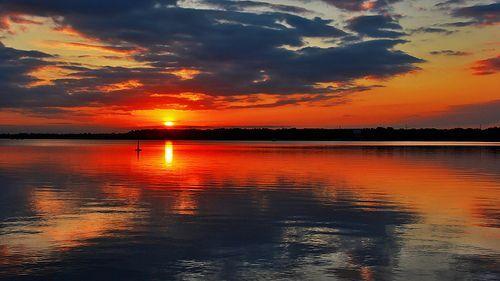 Mother Nature Paints A Sunset
