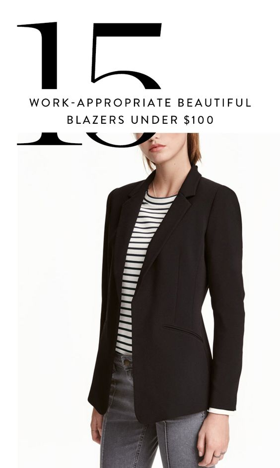 These work-appropriate blazers keep you looking sharp and professional without breaking the bank.