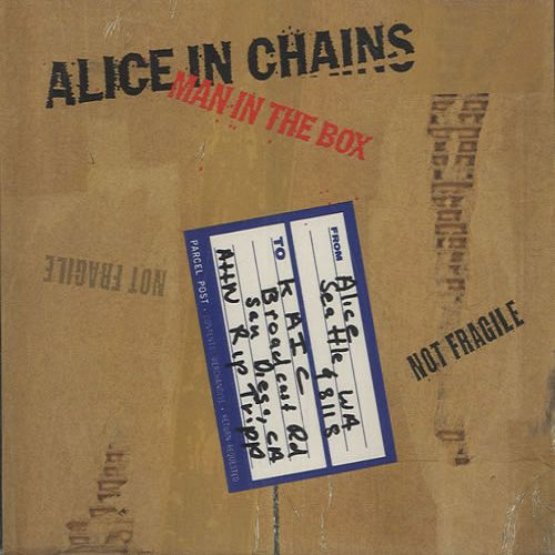 Alice in Chains – Man in the Box (single cover art)