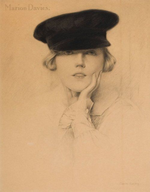 Marion Davies by Charles Gates Sheldon