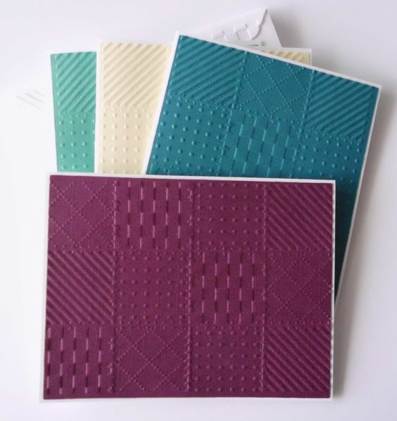 Embossed Quilt Cards, 4 Set, Quilt Card Set, Assorted Quilt Note Cards, Embossed Quilt Greeting Cards, Gift for Quilters, Quilt Stationery by WriteCards on Etsy https://www.etsy.com/listing/216313797/embossed-quilt-cards-4-set-quilt-card