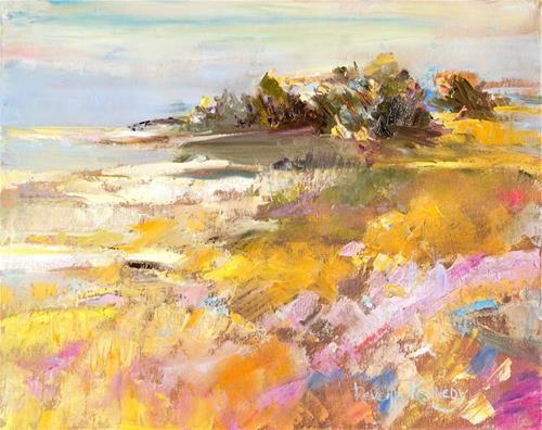 """Sea Path"" - Original Fine Art for Sale - © Reveille Kennedy"
