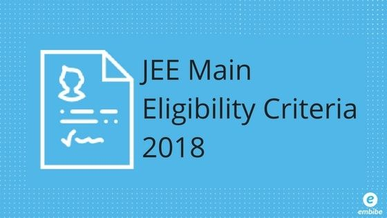 Jee Main Eligibility Criteria 2020 Attempts Age Limit