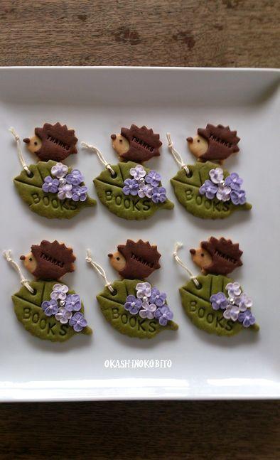 hedgehog cookies