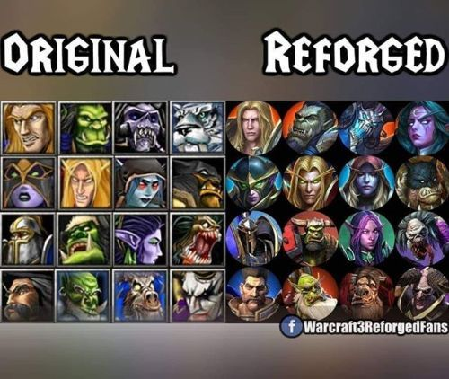 Original And Reforged Icons Warcraft3reforged Gaming Gamers