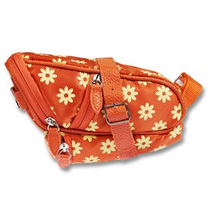 Vibrant Floral Deluxe Saddle Bag