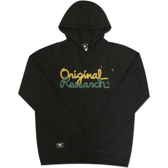 LRG ORIGINAL RESEARCH PULLOVER HOODIE BLACK £62.50  #tshirt #mensfashion #hiphop #fashion #newcollection #designs #london