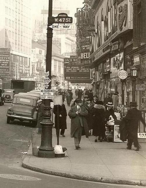 New York City,   1930's
