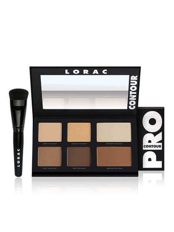 PRO Contour Palette & PRO Contour Brush 4099-CONTOUR