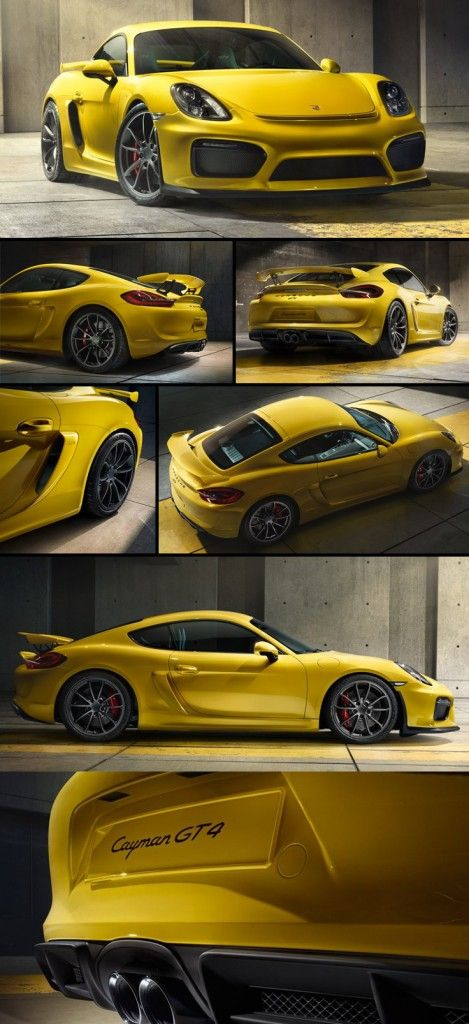 385hp 2015 Cayman GT4: Just announced by Porsche. Check out the video that Porsche released by clicking here: http://blog.lottogopher.com/2015/02/2015-porsche-cayman-gt4/